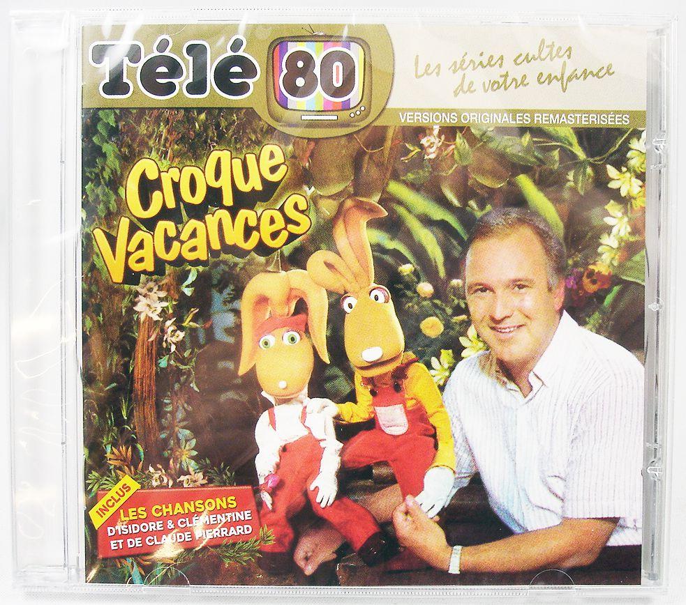 Croque Vacances - Compact Disc - Original TV series soundtrack
