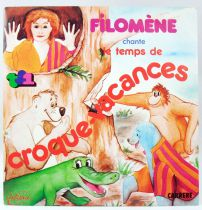 Croque Vacances Tv show theme by Filomene - Mini-LP Record - Carrère 1983