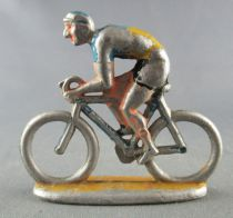 Cycliste aluminium - Années 50 - Rouleur Casqué Tour de France