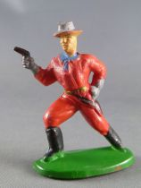 Cyrnos - Wild-West - Cow-Boys Footed firing pistol left hand on hips