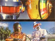 Daft Punk - Set of 2 12\'\' figures - Guy Manuel de Homen-Christo & Thomas Bangalter - Medicom Real Action Heroes