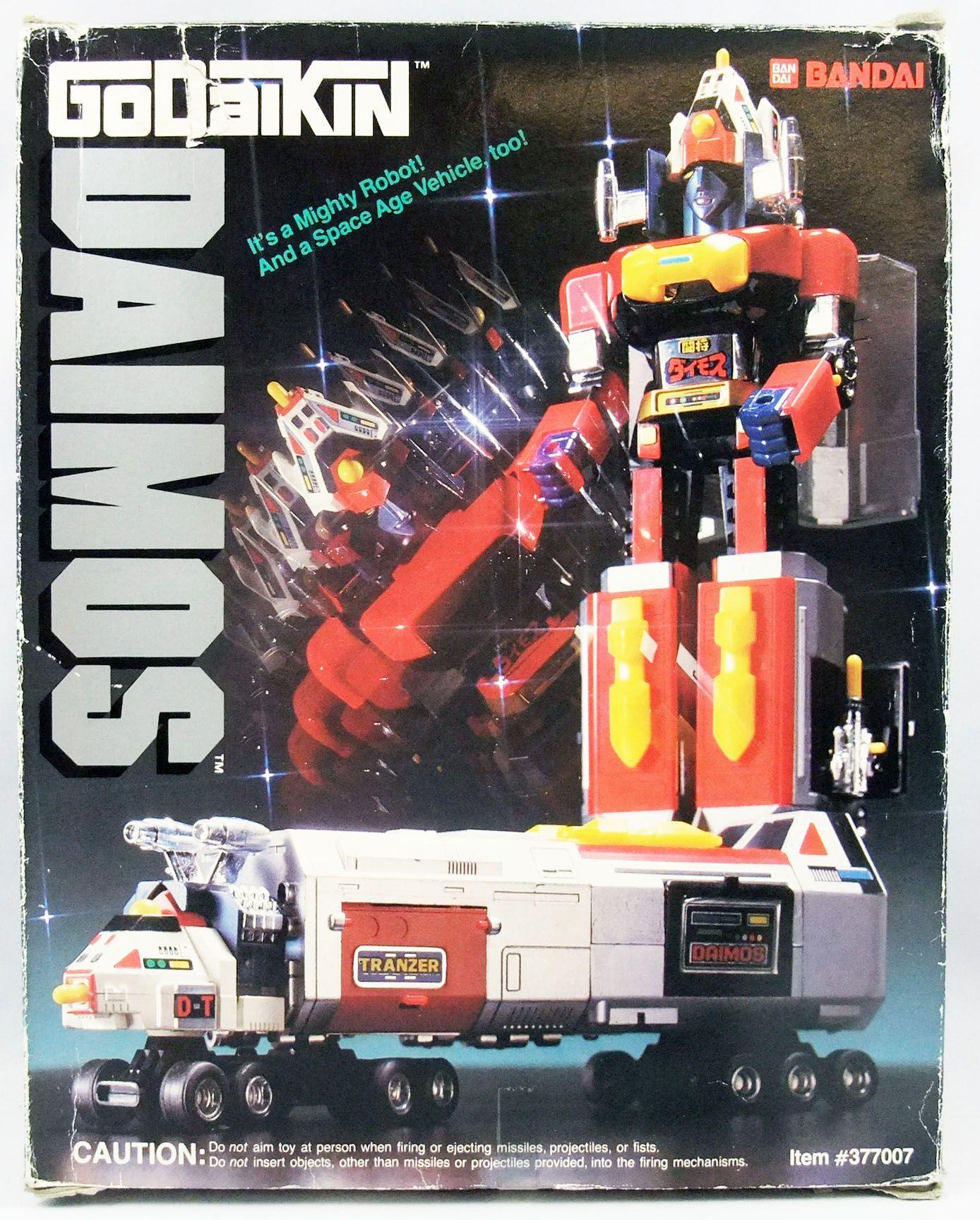 Daimos - Popy - Daimos DX GA-85 (boite Bandai USA - Godaikin)