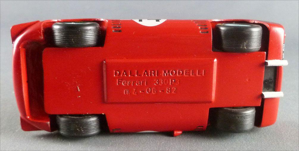 Dallari Modelli Ferrari 330 P3 RougeN°14 Kit Métal Montage Usine 1/43