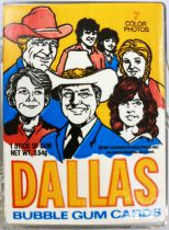 Dallas - Donruss Trading Bubble Gum Cards (1981) - Série complète 56 cartes