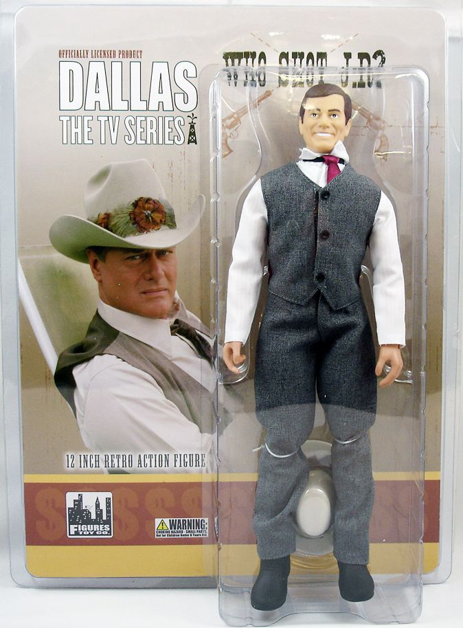 Dallas - Figures Toy Co. - J.R. Ewing Qui a tué J.R.
