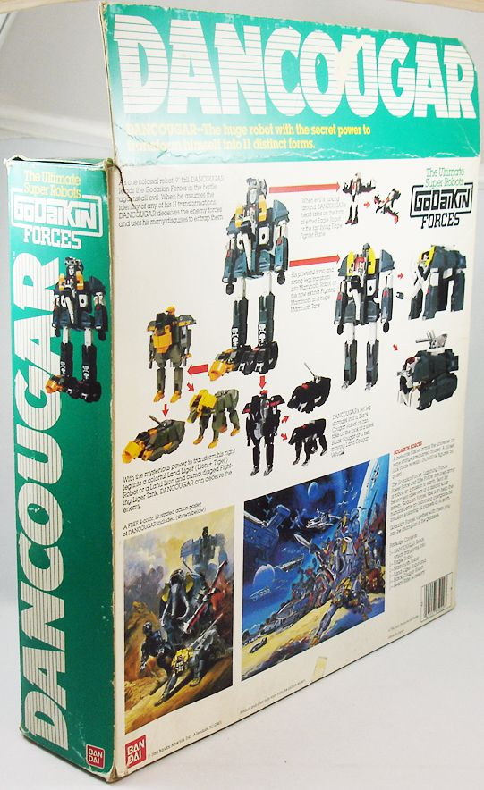 Dancougar - Bandai Godaikin Forces - Dancougar DX