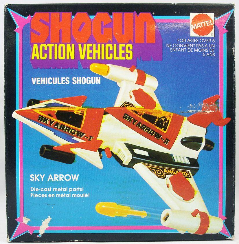 danguard_ace___shogun_action_vehicles_mattel___danguard_sky_arrow_neuf_en_boite