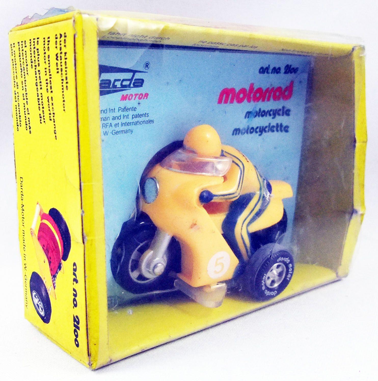 Darda Motor - Motocyclette jaune n°2100
