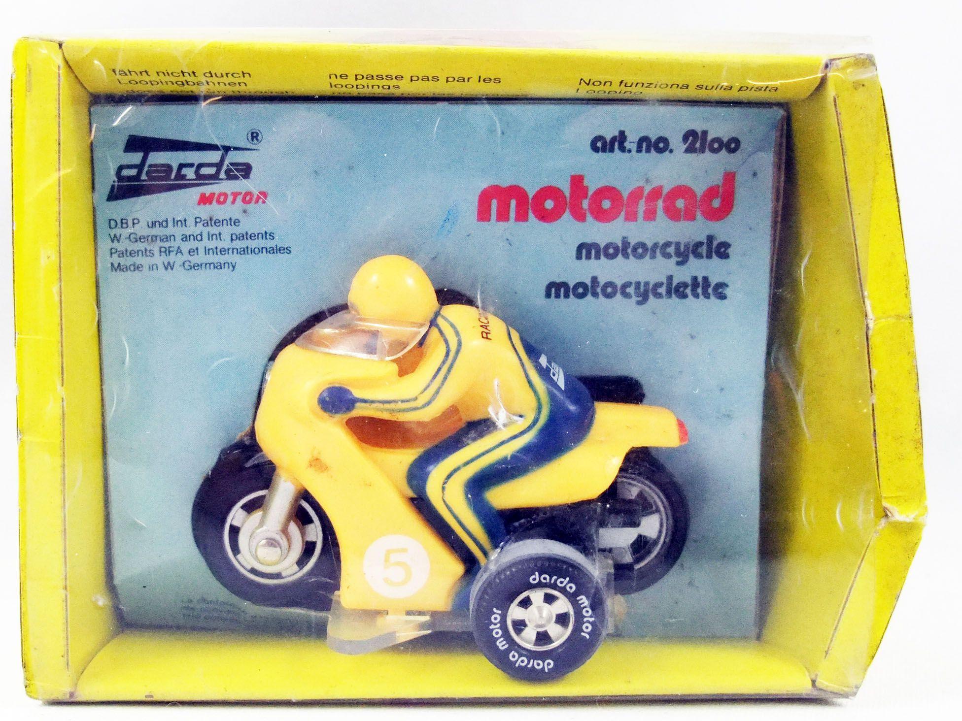 Darda Motor - Yellow Motorcycle set n°2100