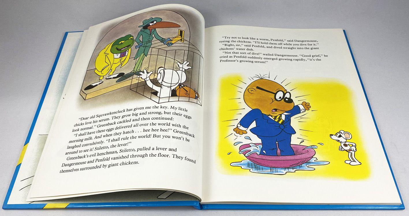 Dare-Dare Motus frappe à nouveau (Danger Mouse strikes again) - Purnell Publisher Ltd 1983