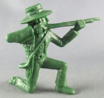 Davy Crockett - Figure by La Roche aux Fées - Series 1 - Patriot Firing Rifle kneeling