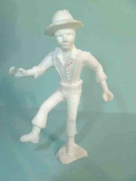Davy Crockett - Figurine La Roche aux Fées - Série 1 - Fils ainé de davy