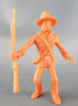 Davy Crockett - Figurine La Roche aux Fées - Série 1 - George ami de Davy
