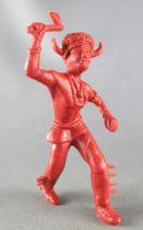 Davy Crockett - Figurine La Roche aux Fées - Série 2 - Bison Noir