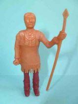Davy Crockett - Figurine La Roche aux Fées - Série 2 - Chef Indien