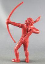 Davy Crockett - Figurine La Roche aux Fées - Série 2 - Indien Archer