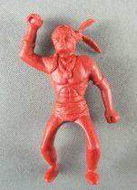 Davy Crockett - Figurine La Roche aux Fées - Série 2 - Indien Cavalier