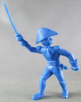 Davy Crockett - Figurine La Roche aux Fées - Série 3 - Commandant Roussel