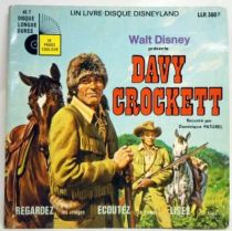 Davy Crockett - Record-Book 45s - Ades / Le Petit Menestrel Records 1972