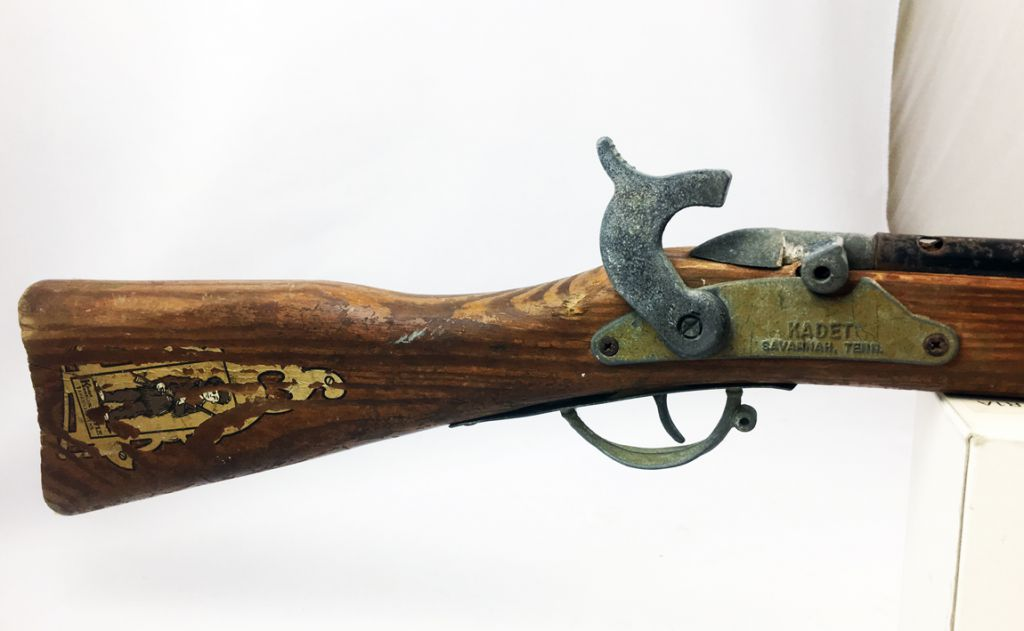 Davy Crockett - Savannah (Tennessee) - Kentucky Rifle ( Kadet Cap Gun)
