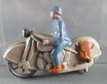 D.C. (Domage & Cie) - Figurine Plomb Creux - Motocyclette de Reconnaissance