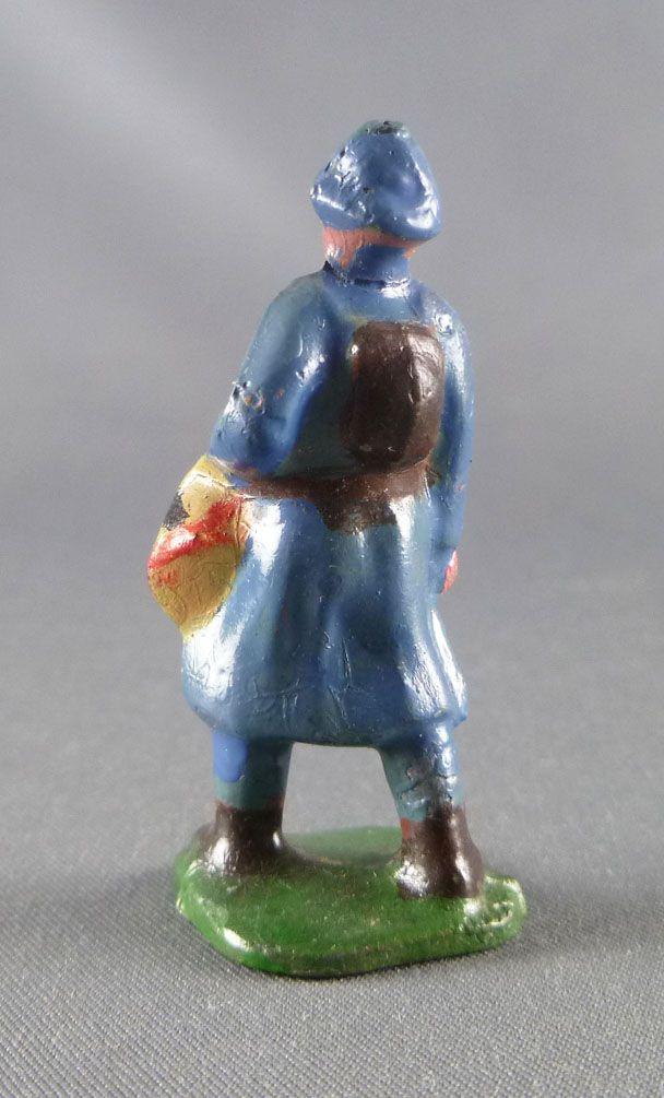 D.C. (Domage & Cie) - Figurine Plomb Creux 45 mm - Fantassin Bleu Horizon Tambour