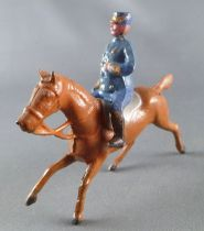 D.C. (Domage & Cie) - Figurine Plomb Creux 85 mm - Cavalier Général Italien Démontable