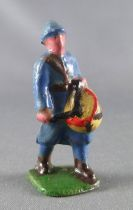 D.C. (Domage & Cie) - Lead Soldiers 45 mm - French  Infantry Blue Dress Drum