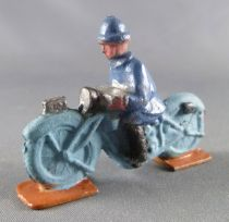 D.C. (Domage & Cie) - Lead Soldiers 45 mm - French Infantry Motorcycle (Blue)