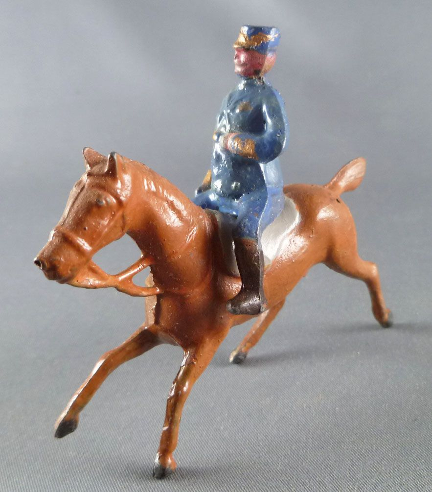 D.C. (Domage & Cie) - Lead Soldiers 85 mm - Mounted Italian General 2 parts