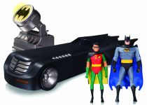DC Collectibles - Batman The Animated Series - Batmobile (Edition Deluxe avec Batman & Robin)
