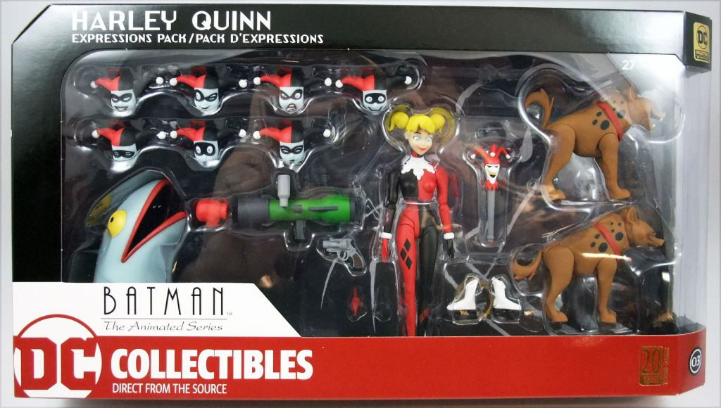 Batman The Animated Series Harley Quinn Expressions Pack