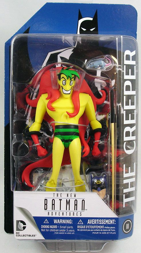 """DC Collectibles BATMAN Animated serie /""""Creeper/"""" Action Figure"""
