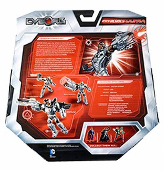 DC Comics Total Heroes Ultra - Mattel - Cyborg (SDCC 2014 Exclusive)