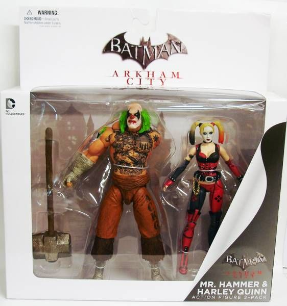 DC Direct - Batman Arkham City - Mr. Hammer & Harley Quinn