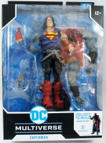 DC Multiverse - McFarlane Toys - Superman (Dark Knights : Death Metal) - Darkfather collect to build series