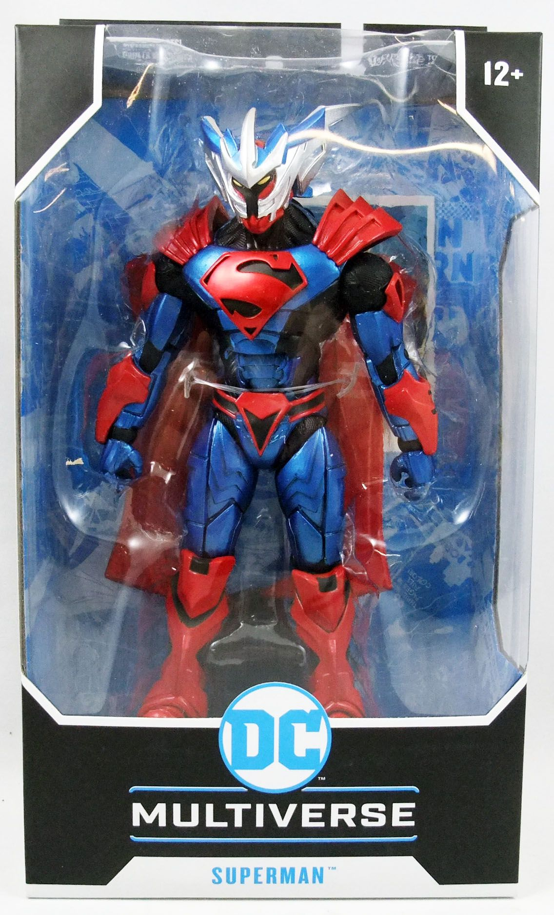 environ 17.78 cm DC Multi-Univers Unchained Armor Superman 7 in Action Figure de Collection