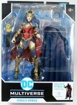 DC Multiverse - McFarlane Toys - Wonder Woman (Dark Knights : Death Metal) - Darkfather collect to build series