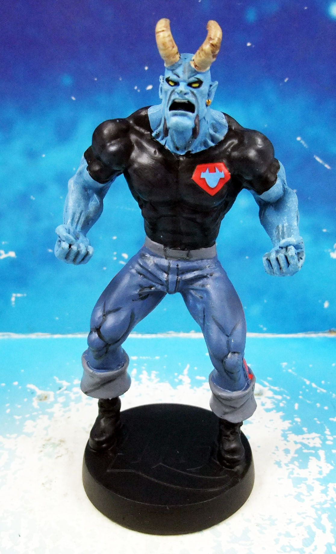 DC Super Heroes - Eaglemoss - #090 Blue Devil