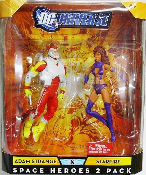 DC Universe - Exclusive - Adam Strange & Starfire