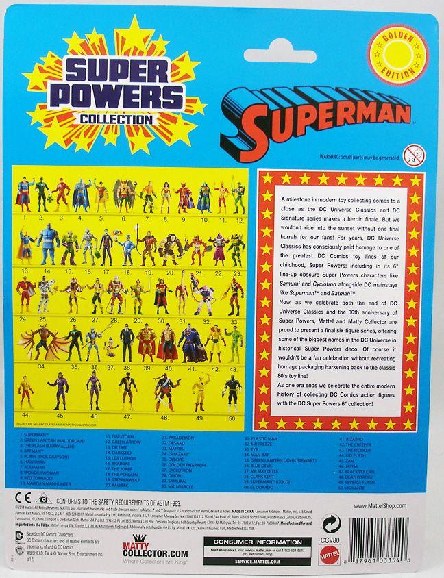 DC Universe - Super Powers Collection - Gold Superman (1)