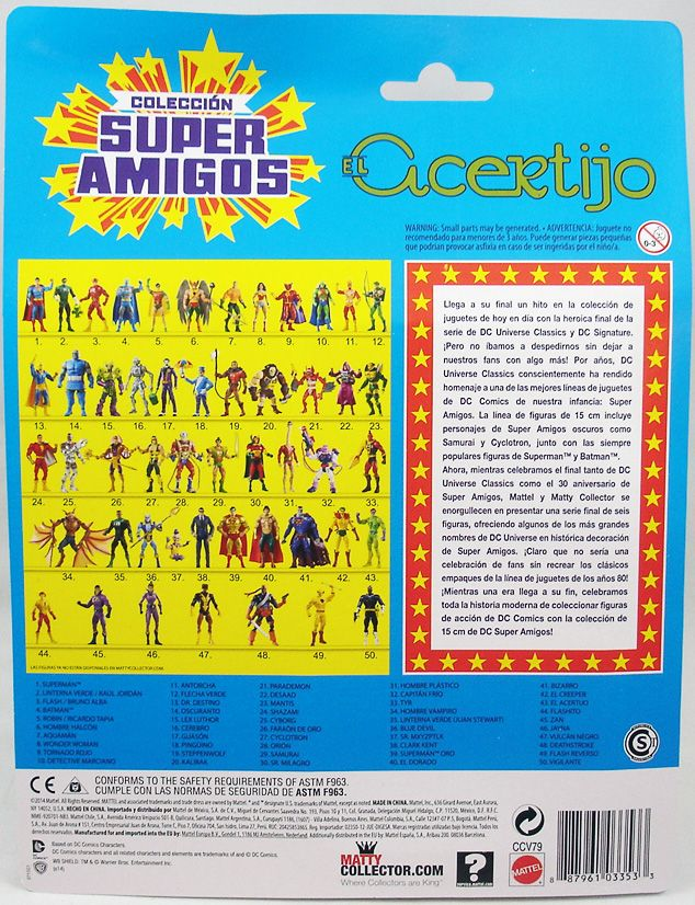 DC Universe - Super Powers Collection - The Riddler El Acertijo (1)