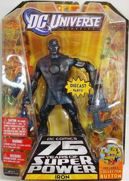 DC Universe - Wave 12 - Metal Men Iron