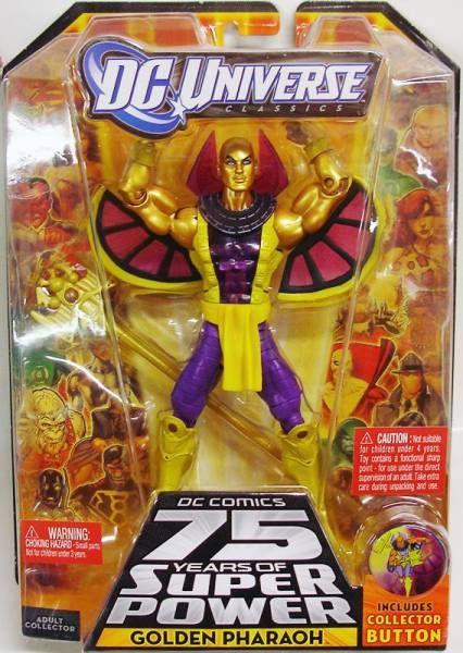 DC Universe - Wave 15 - Golden Pharaoh