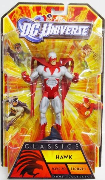 DC Universe - Wave 20 - Hawk