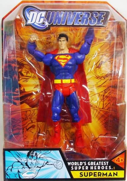 DC Universe - World\'s Greatest Super Heroes - Superman
