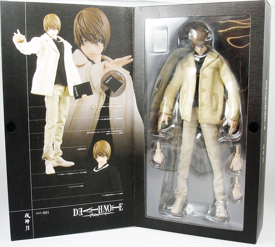 "Death Note - Medicom Real Action Heroes - Yagami Light 12"" figure"