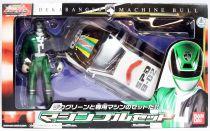 Dekaranger - Deka Green Machine Bull - Bandai