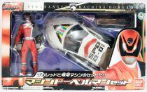 Dekaranger - Deka Red Machine Doberman - Bandai