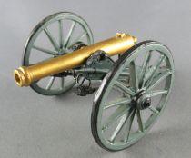 Del Prado - Lead 54mm - Wild-West Collection - American Civil War Cannon Gun acw